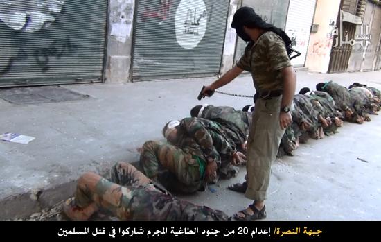 Esecuzioni sommarie da parte di Jabhat al Nusra