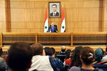 Il Vice Ministro degli Esteri e degli Espatriati Dr. Fayssal Mikdad