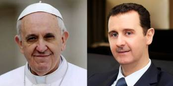 Presidente Al-Assad a Papa Francesco