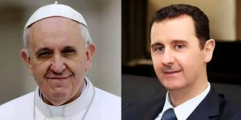 Presidente Al-Assad a Papa Francesco