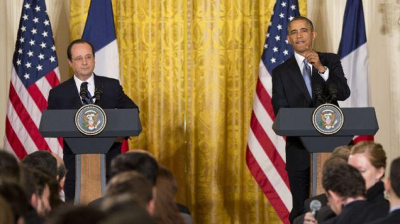 Francia, USA. Hollande - Obama, Fonte FoxNews